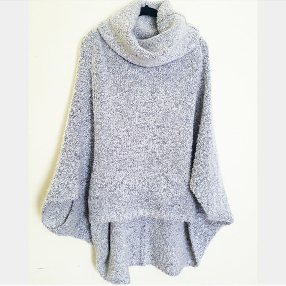 c0c32cfb28cd2b bishop + young Sweaters - Bishop + Young oversized comfy cowl neck poncho